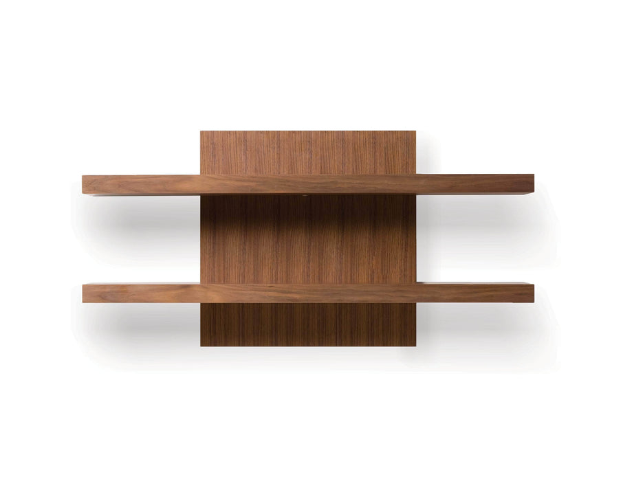 Mobital Wall Shelf Natural Walnut Cargo Wall Shelf - Available in 2 Colors