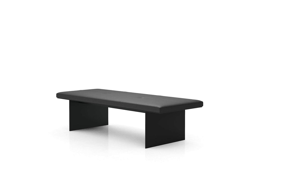 Pending - Modloft Benches Chambers Bench in Graphite Leather