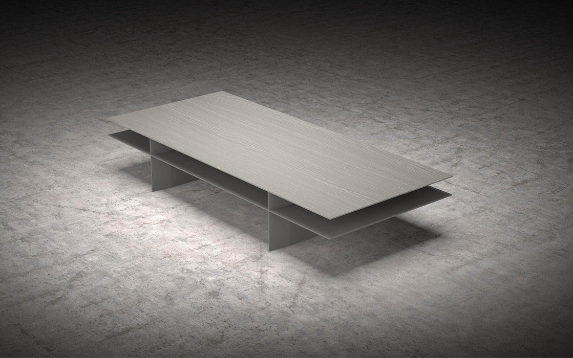 Pending - Modloft Coffee Tables Acier/Gray Kensington Coffee Table - Available in 2 Colors