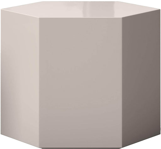 "Pending - Modloft Coffee Tables Glossy Chateau Gray Centre 14"" Occasional Table - Available in 4 Colors"