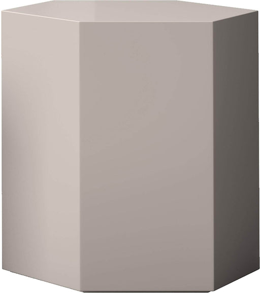 "Pending - Modloft Coffee Tables Glossy Chateau Gray Centre 18"" Occasional Table - Available in 4 Colors"