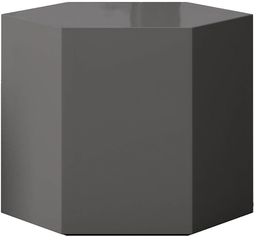 "Pending - Modloft Coffee Tables Glossy Dark Gull Gray Centre 14"" Occasional Table - Available in 4 Colors"