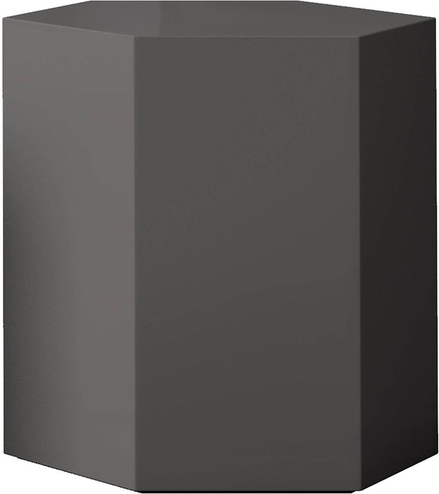 "Pending - Modloft Coffee Tables Glossy Dark Gull Gray Centre 18"" Occasional Table - Available in 4 Colors"