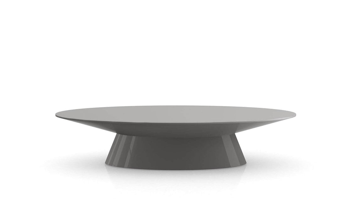Pending - Modloft Coffee Tables Glossy Dark Gull Gray Sullivan Coffee Table - Available in 2 Colors