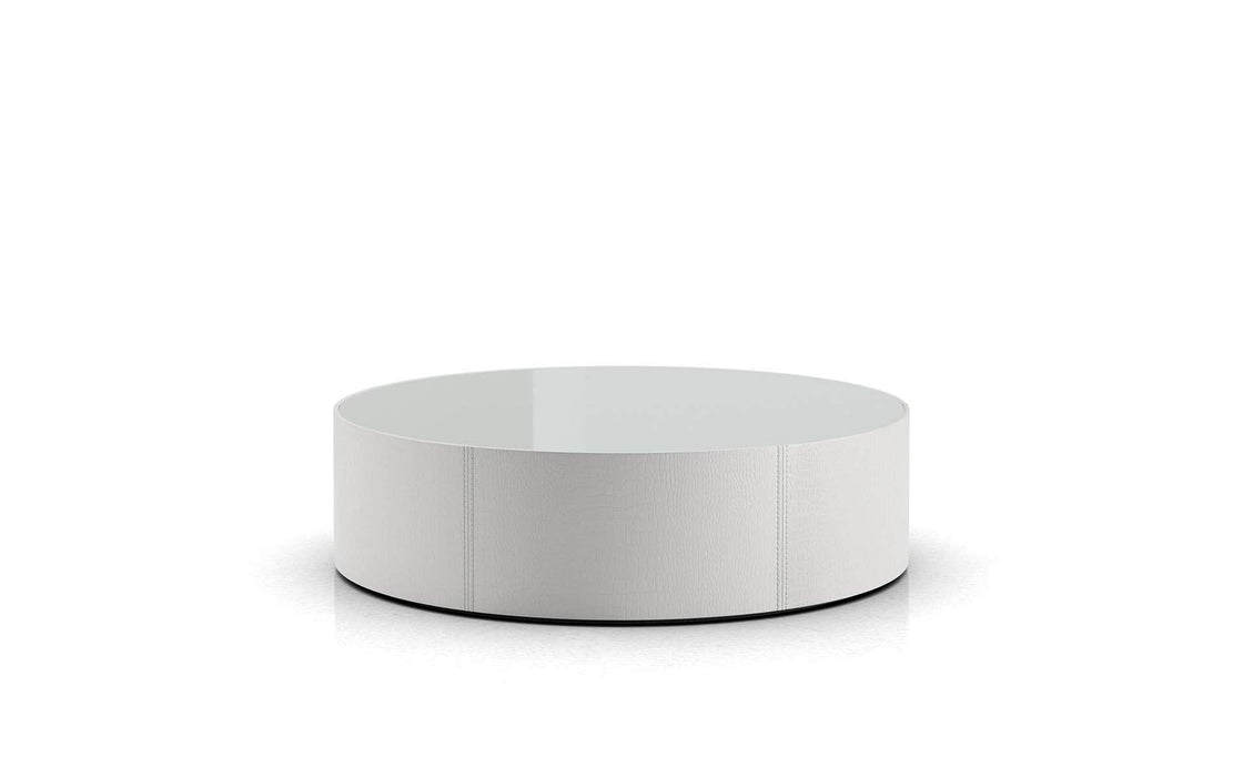 Pending - Modloft Coffee Tables White Glass Berkeley Coffee Table - Available in 2 Colors