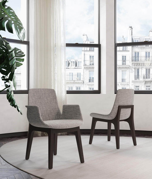 Pending - Modloft Dining Chairs Mercer Dining Arm Chair - Available in 2 Colors