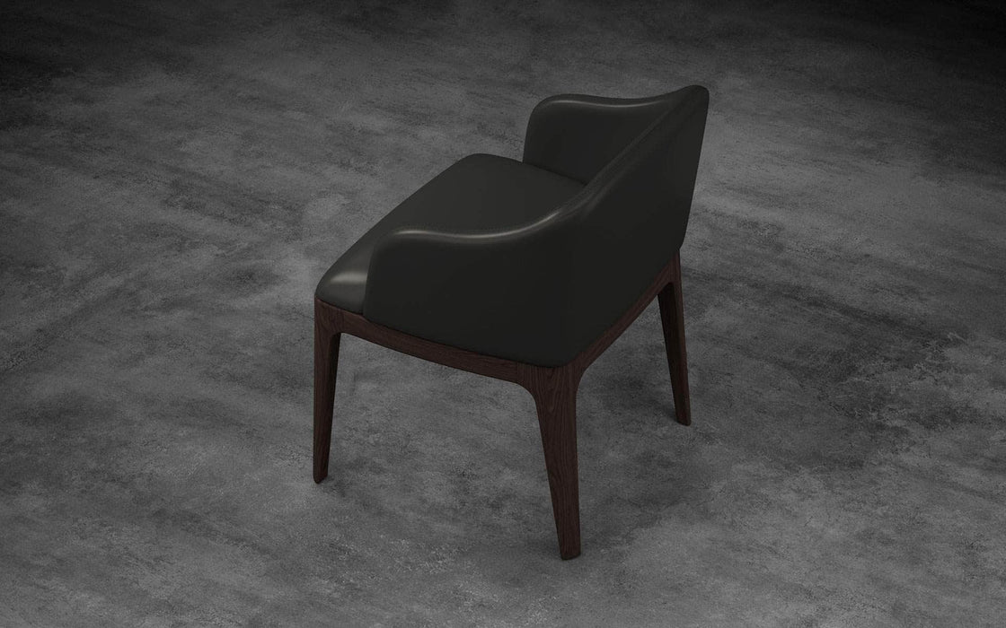Pending - Modloft Dining Chairs Wooster Dining Arm Chair - Available in 2 Colors