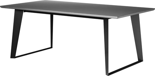 "Pending - Modloft Dining Tables Amsterdam 79"" Dining Table in Gray Concrete"