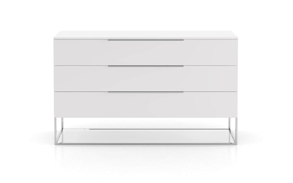 Pending - Modloft Dressers White Bowery Dresser - Available in 3 Colors