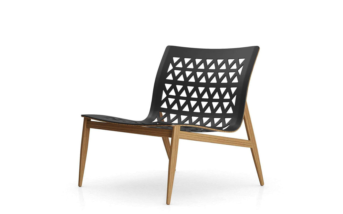 Pending - Modloft Lounge Chairs Black Leather Elmstead Lounge Chair - Available in 2 Colors