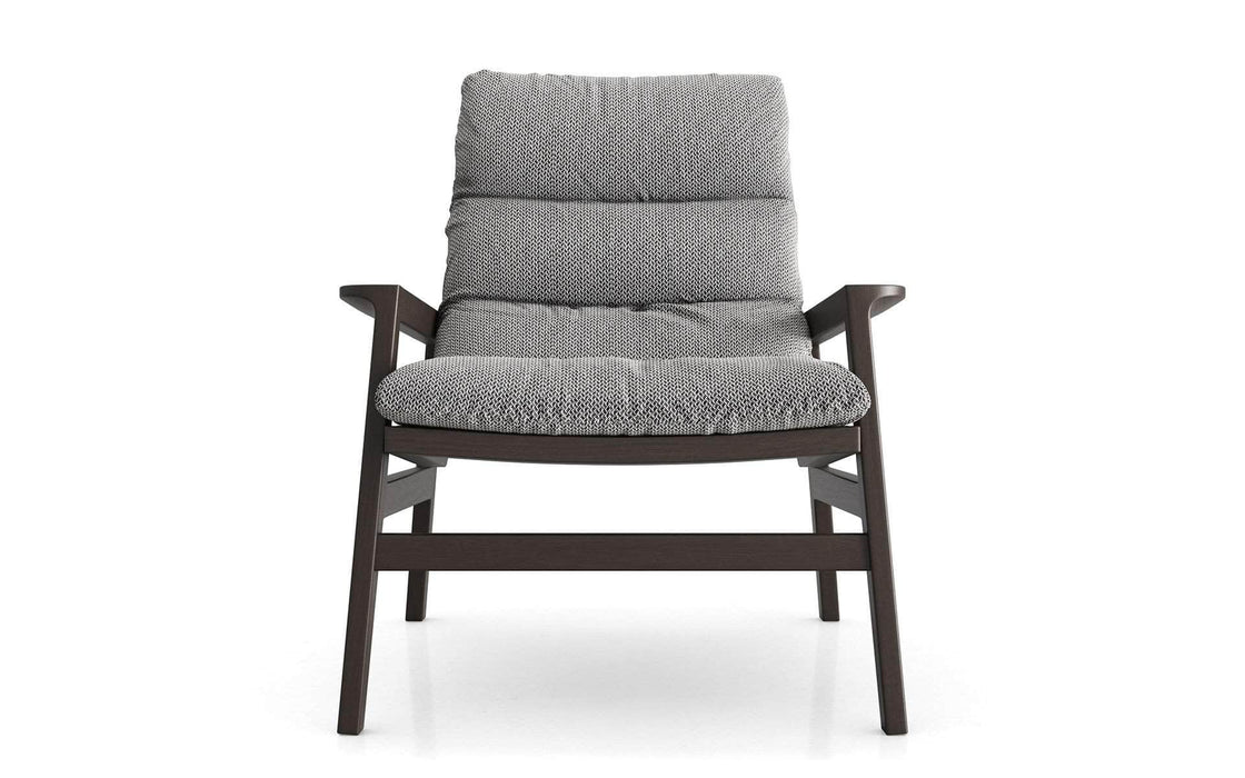 Pending - Modloft Lounge Chairs Fulton Lounge Chair in Mixed Marble Fabric