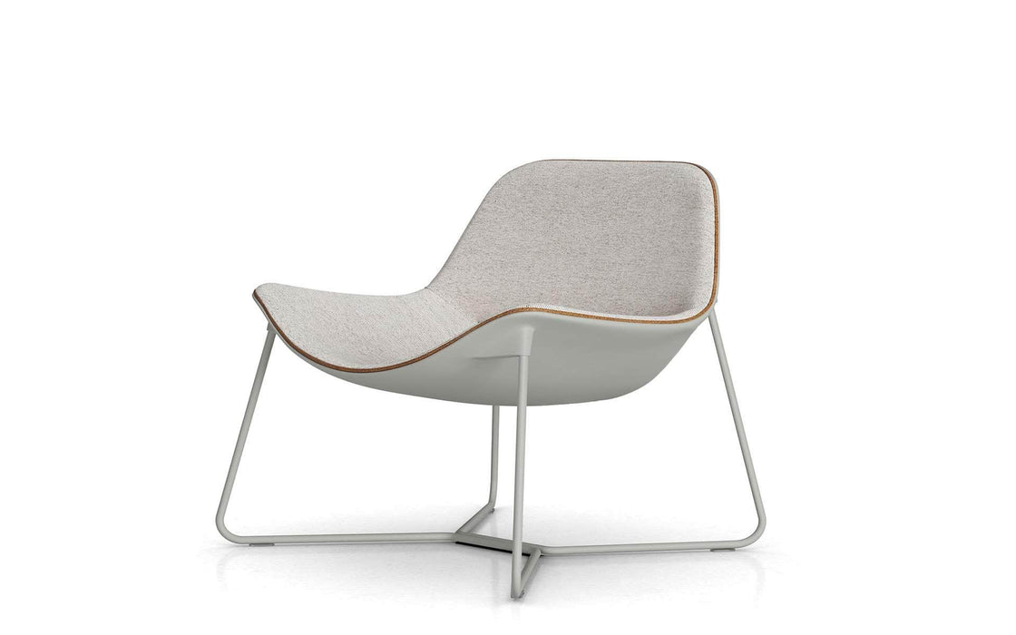 Pending - Modloft Lounge Chairs Oatmeal Fabric Oakley Lounge Chair - Available in 2 Colors