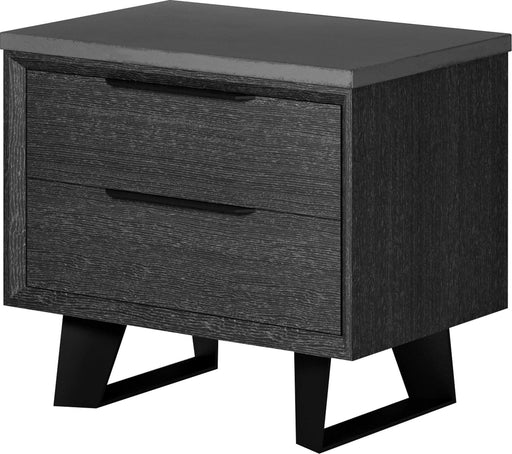 Pending - Modloft Nightstands Amsterdam Nightstand in Gray Oak and Gray Concrete