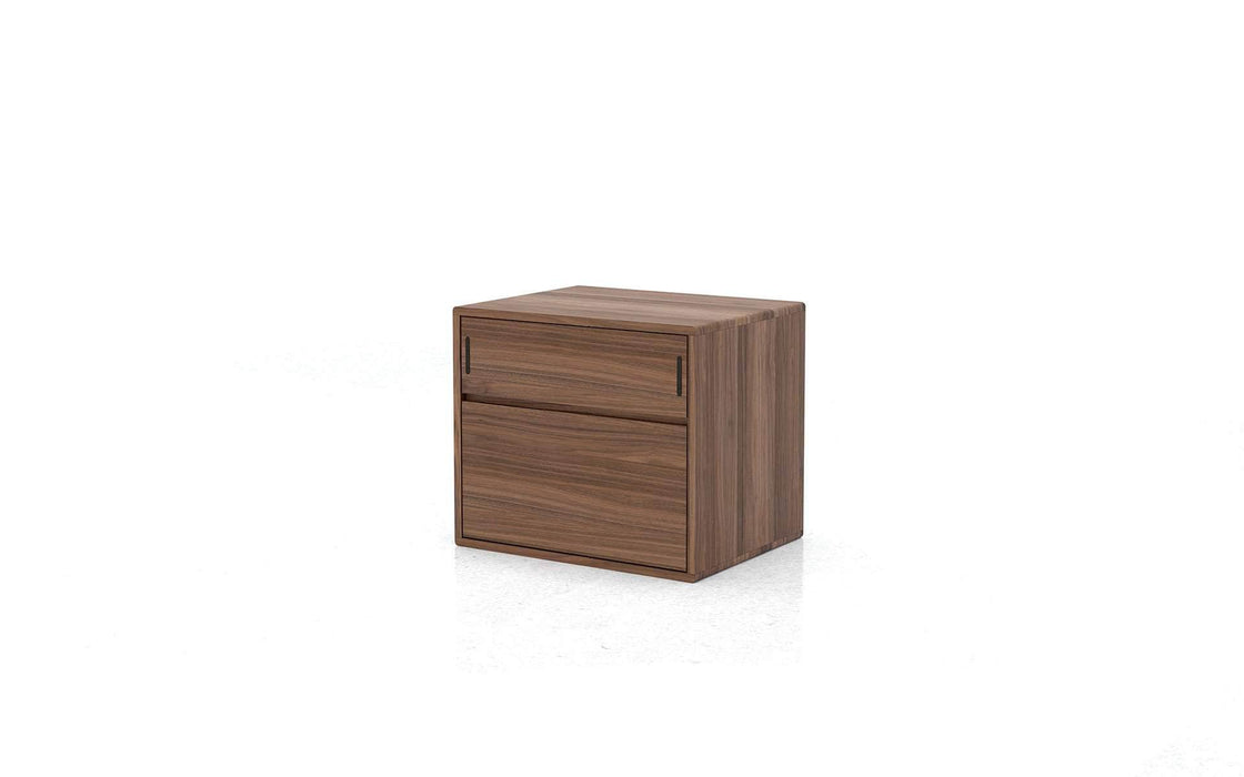 Haru Nightstand in Walnut