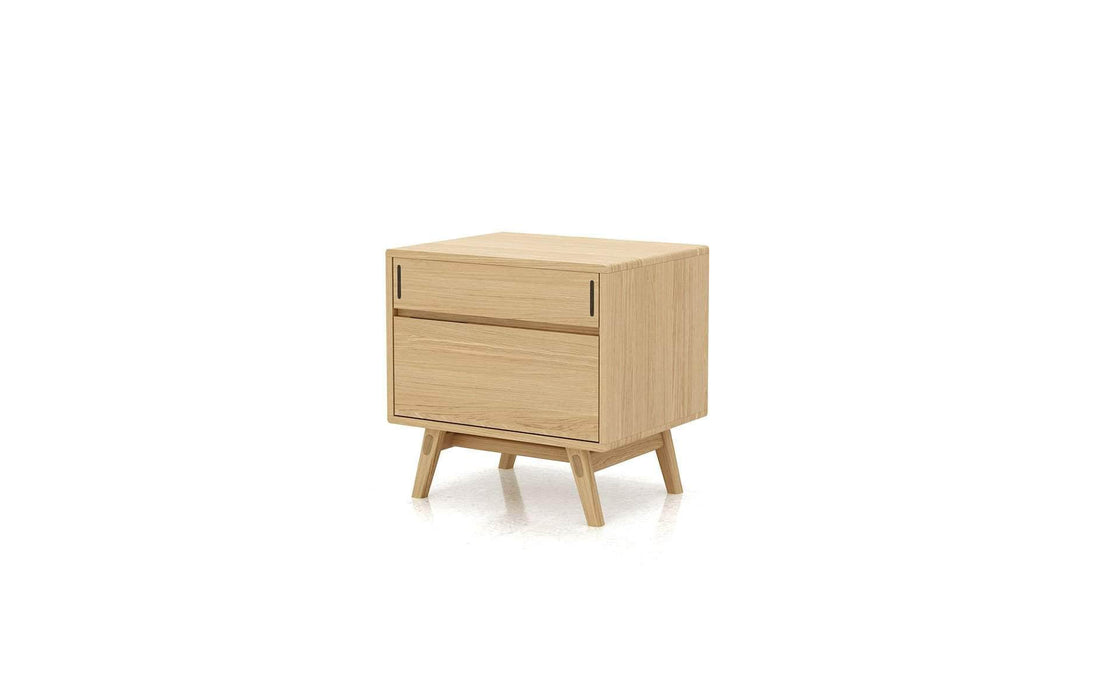 Haru Nightstand in Natural Oak