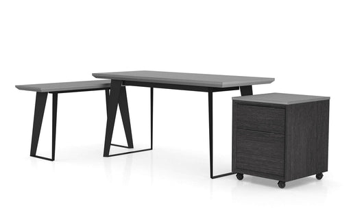 Pending - Modloft Office Amsterdam Desk Set in Gray Concrete