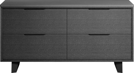 Pending - Modloft Office Amsterdam File Credenza in Gray Oak and Gray Concrete