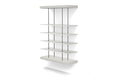 Pending - Modloft Office Bayard Bookshelf in Chateau Gray