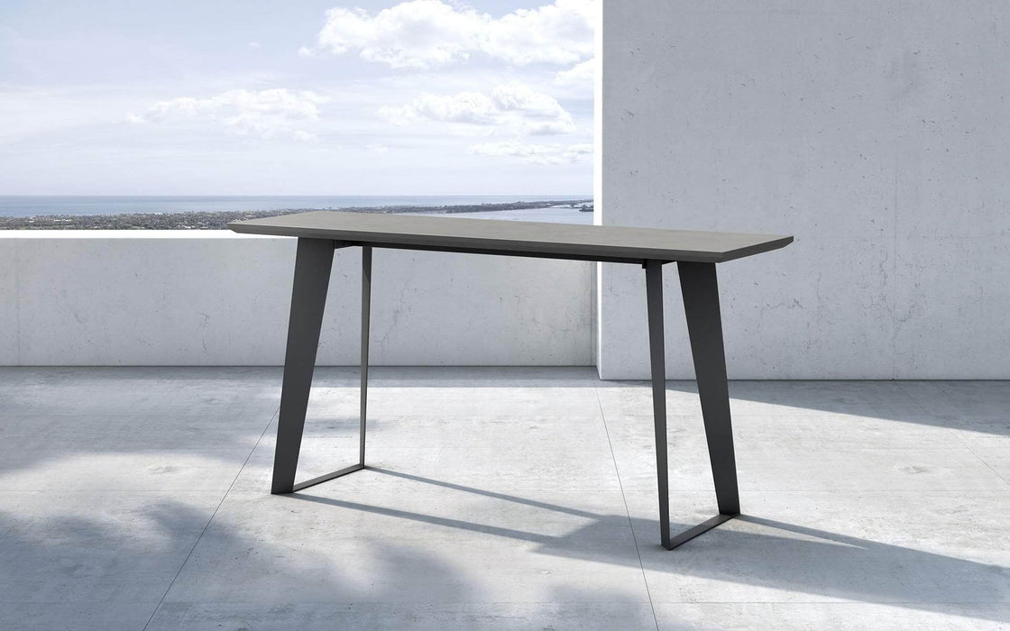 Pending - Modloft Outdoor Amsterdam Outdoor Console in Gray Concrete