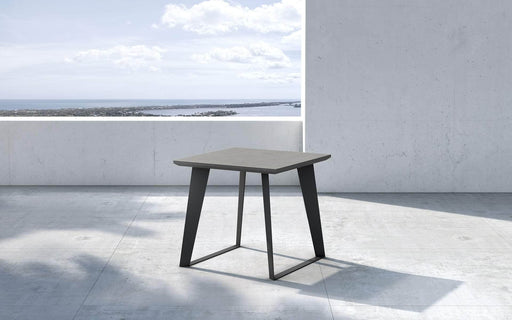 Pending - Modloft Outdoor Amsterdam Outdoor Side Table in Gray Concrete