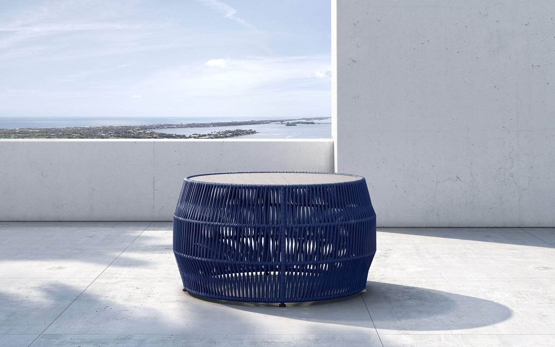 Pending - Modloft Outdoor Blue Cord Volta Outdoor Cocktail Table - Available in 2 Colors