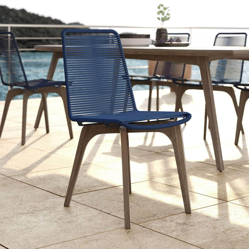 Pending - Modloft Outdoor Laced Outdoor Dining Chairs - Available in 3 Colors