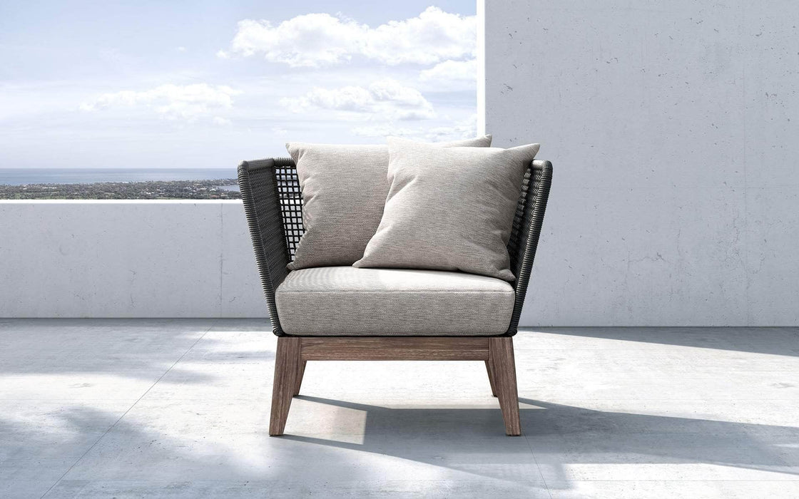 Pending - Modloft Outdoor Netta Outdoor Lounge Chair in Feather Gray Fabric