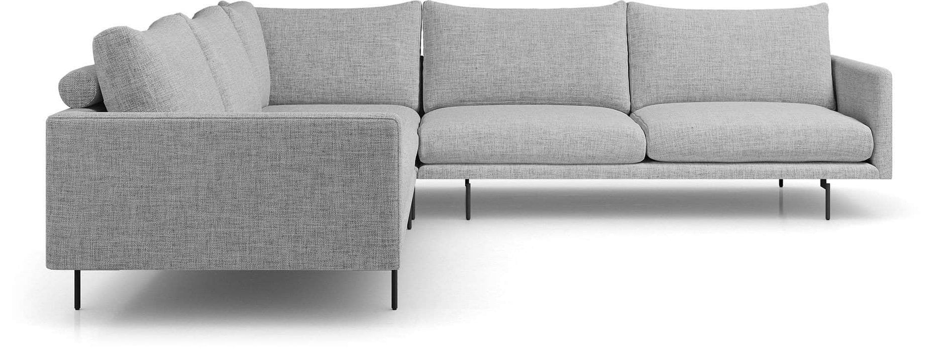 Pending - Modloft Sectionals Houston Corner Sectional Sofa - Available in 2 Colors
