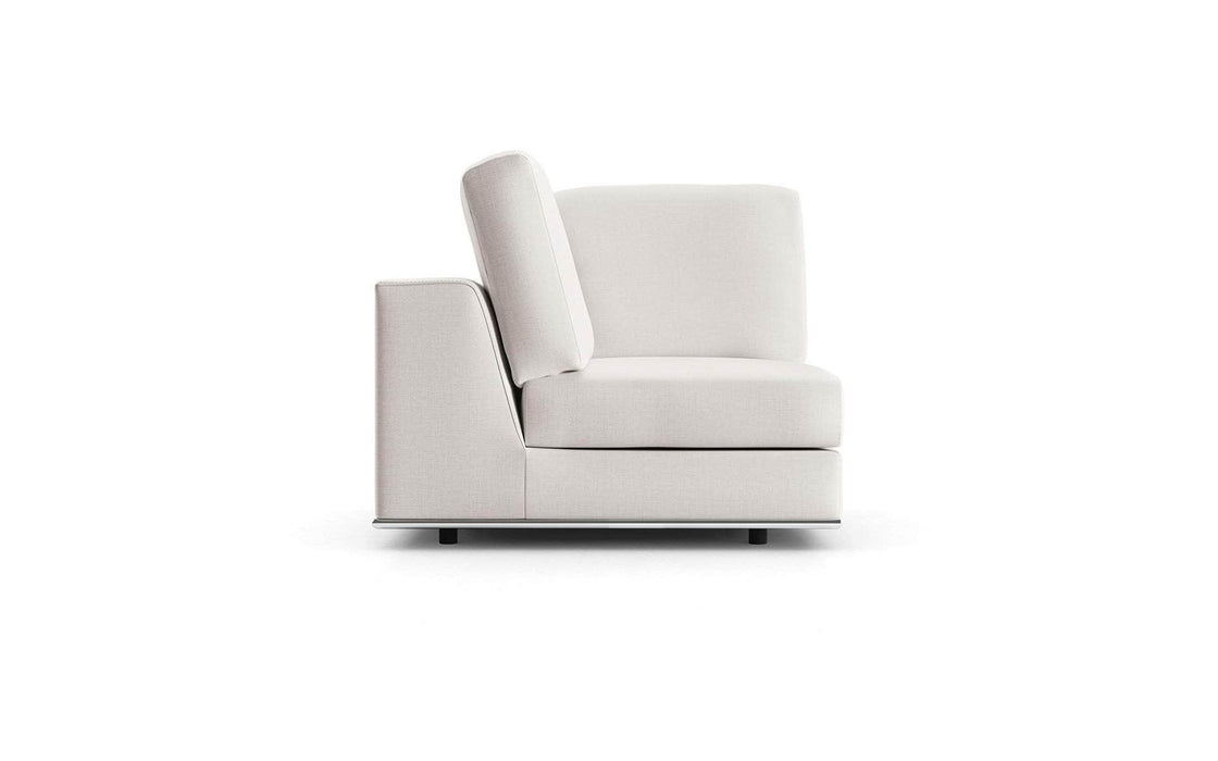 Pending - Modloft Sectionals Perry Modular Corner Chair - Available in 2 Colors