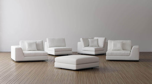 Pending - Modloft Sectionals Perry Modular Ottoman - Available in 2 Colors