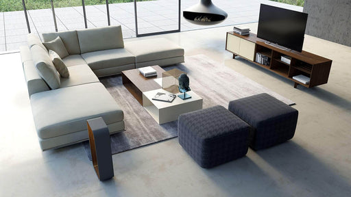 Pending - Modloft Sectionals Perry Sectional Armless Corner Sofa - Available in 2 Colors