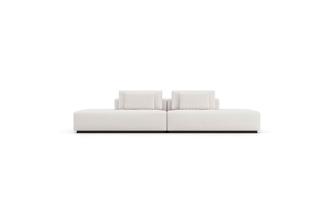 Pending - Modloft Sectionals Spruce Sectional End Units in Chalk Fabric