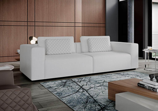 Pending - Modloft Sectionals Spruce Sectional Two Seat Sofa in Chalk Fabric