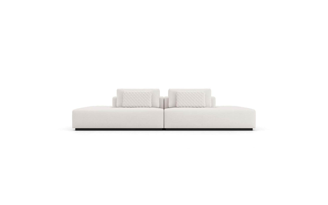 Pending - Modloft Sectionals Spruce Sectional Two Sided End Units in Chalk Fabric