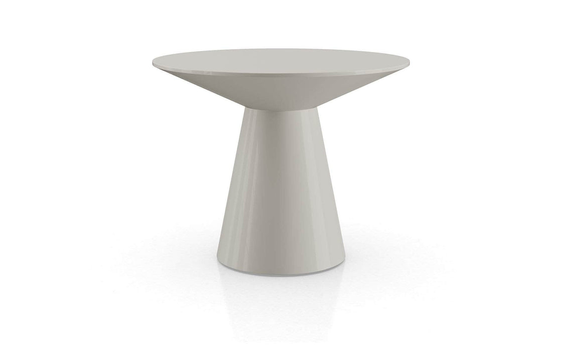 Pending - Modloft Side Tables Glossy Chateau Gray Sullivan Side Table - Available in 2 Colors