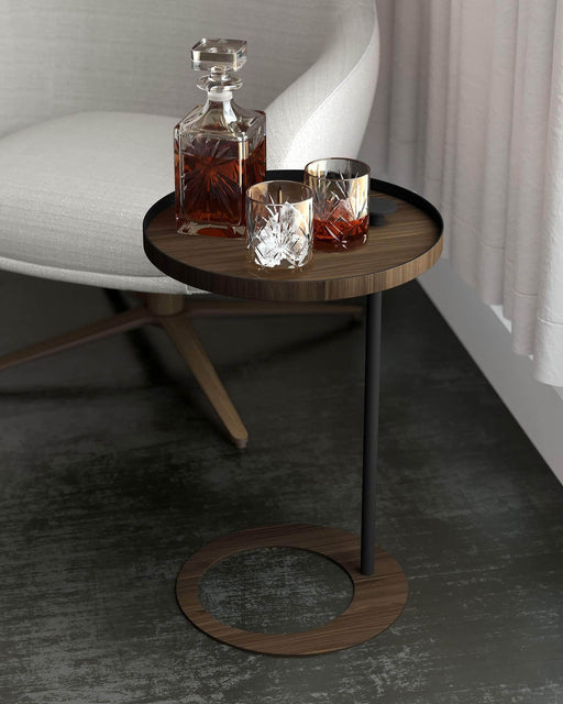 Pending - Modloft Side Tables Horatio Side Table in Walnut