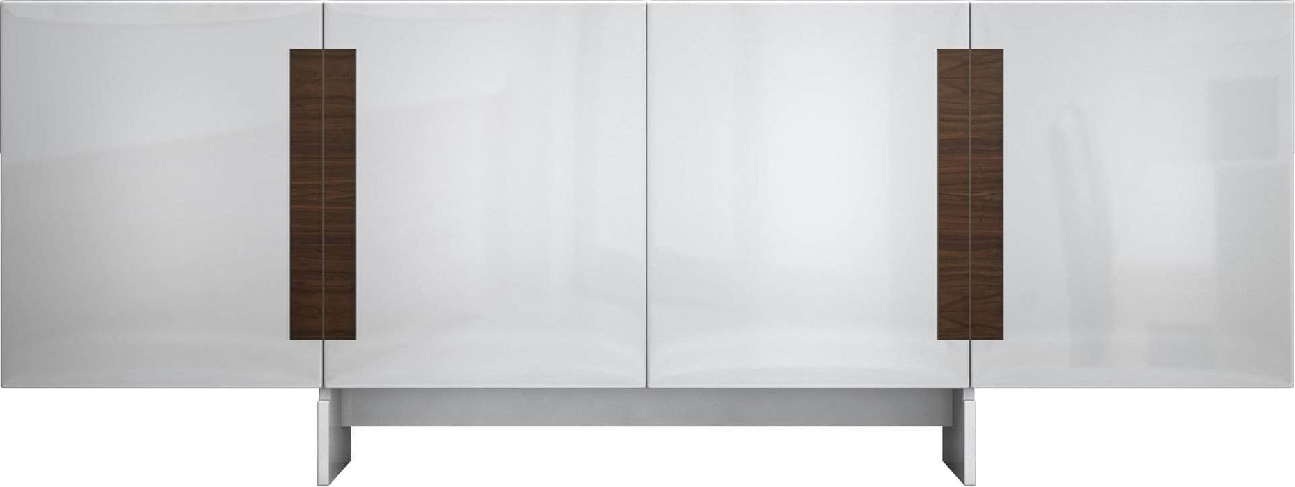 Pending - Modloft Sideboards Glossy White Brixton Sideboard - Available in 2 Colors