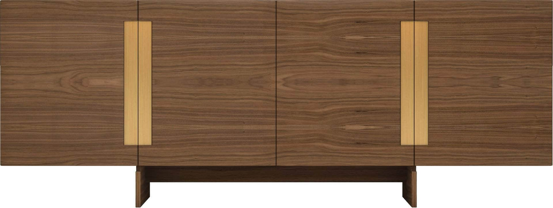 Pending - Modloft Sideboards Walnut Brixton Sideboard - Available in 2 Colors