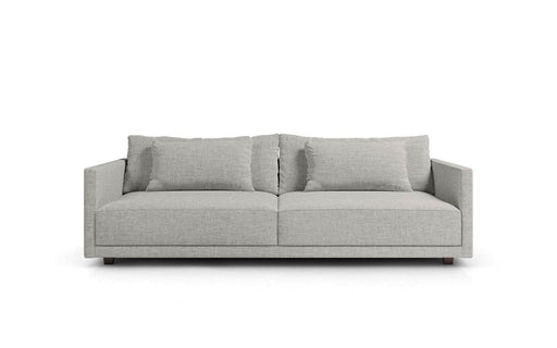 Basel Sofa in Slate Pebble Fabric