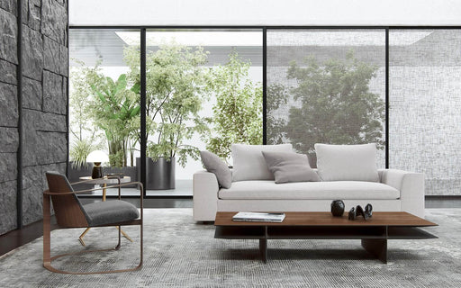 Pending - Modloft Sofas Lucerne Sofa in Ashen Fabric