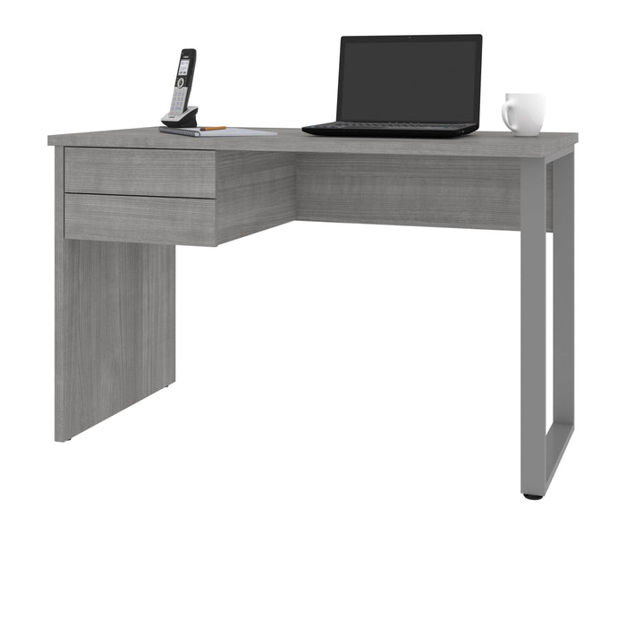 Bestar Desks Solay 48W Small Table Desk With U-Shaped Metal Leg - Available in 2 Colors