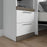 Bestar Shelves Drawers Doors Orion 2 Drawer Set For Orion 20W Narrow Shelving Unit In White & Walnut Grey