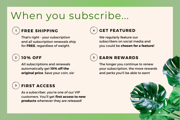 subscription perks naturall club