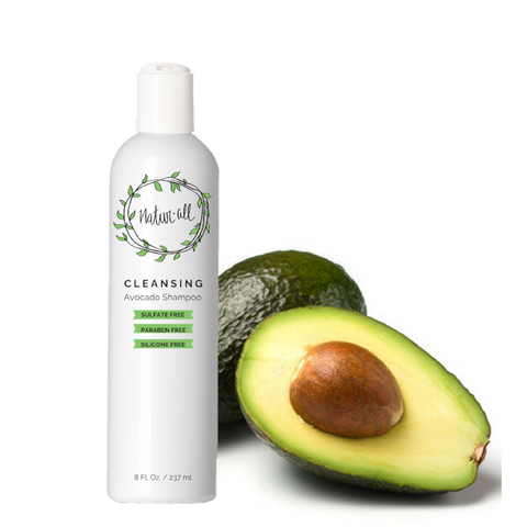 cleansing sulfate free avocado shampoo