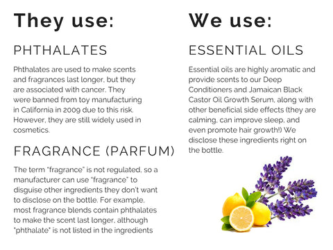 fragrance phthalates vs essential oils