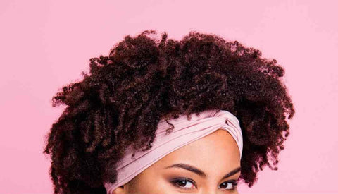 protect curly hair while exercising