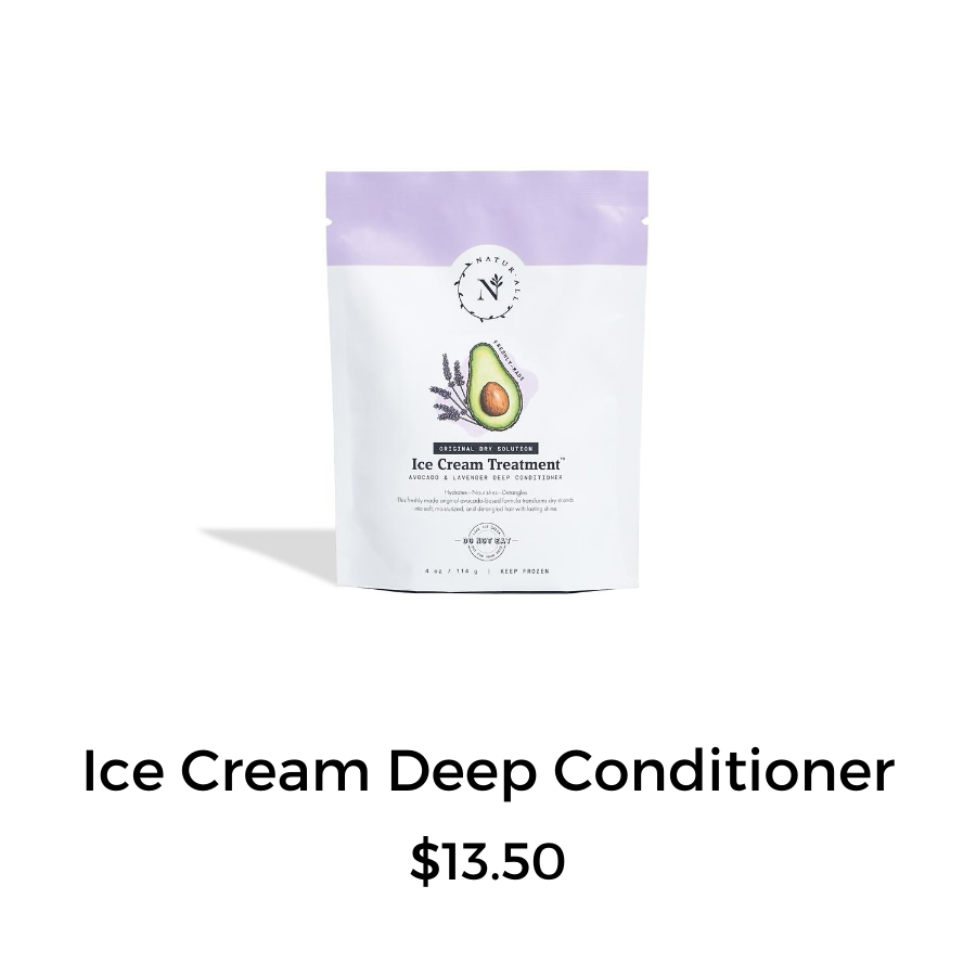ice cream treatment deep conditioner