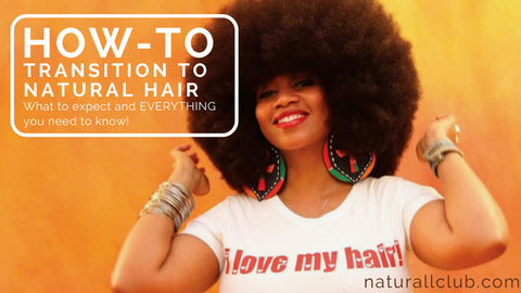 transitioning to natural hair