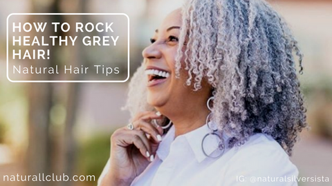 grey hair tips