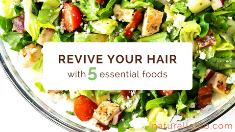 foods to eat for hair growth